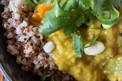 Turmeric Vegetable Curry